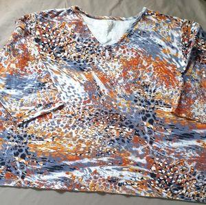 Anne Klein Sport cotton TShirt. 2X